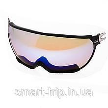 Візор для гірськолижного шолома HMR UV S3 Black VTM7B
