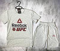 Мужской спортивный костюм Reebok UFC(футболка  + шорты), фото 1