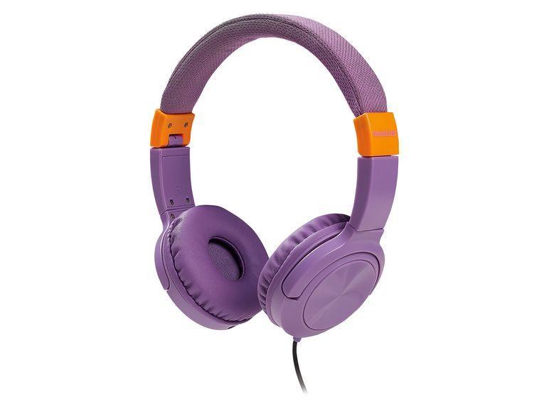 Наушники Silver Crest kopfhörer, фиолетовые LT9953