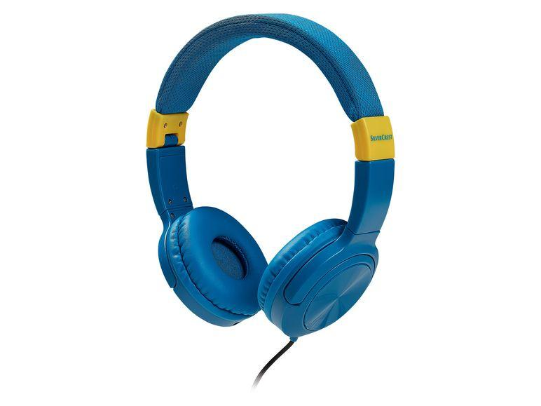 Наушники Silver Crest kopfhörer, синие LT9954