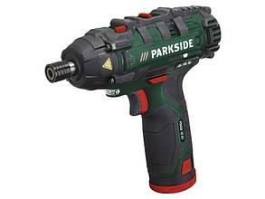 Шуруповерт аккумуляторный Parkside akkuschrauber pdssa 12 a1 Зеленый LT9961