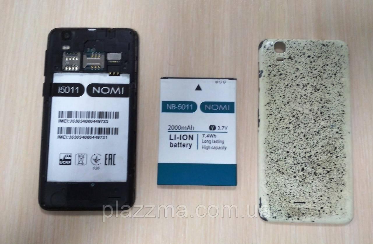 Смартфон Nomi i5011 на запчасти или восстановление