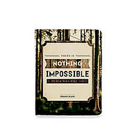 Обложка на ID паспорт или права - Nothing impossible