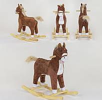 Качалка-конячка зі світловими і звуковими ефектами, код 03779