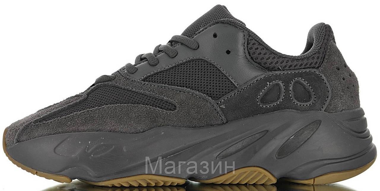 Женские кроссовки adidas Yeezy 700 V2 Utility Black Адидас Изи Буст 700 черные