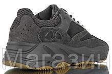 Женские кроссовки adidas Yeezy 700 V2 Utility Black Адидас Изи Буст 700 черные, фото 3