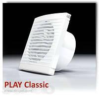 Вентилятор осевой настенный с подшипником и шнурком PLAY 100 WP Classic