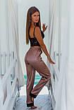 Женская домашняя пижама, топ+штанишки, фото 3