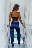 Женская домашняя пижама, топ+штанишки, фото 2