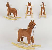 Качалка-конячка зі світловими і звуковими ефектами, код 05773