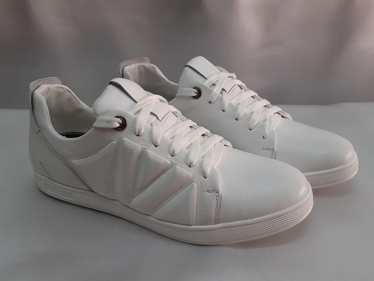 Стильные кожаные кроссовки,кеды Madoks
