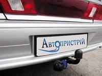 """Фаркоп 2115 """"АвтоПристрій"""" сертиф. кованый шар (В.10)"""