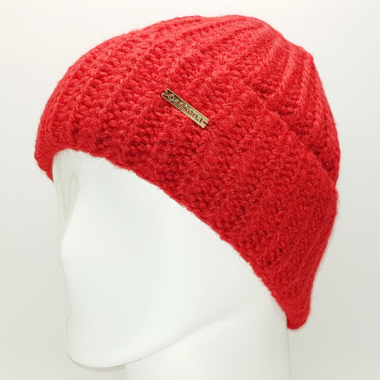 Шапка женский Caskona Donna Ist Red(CS115417)