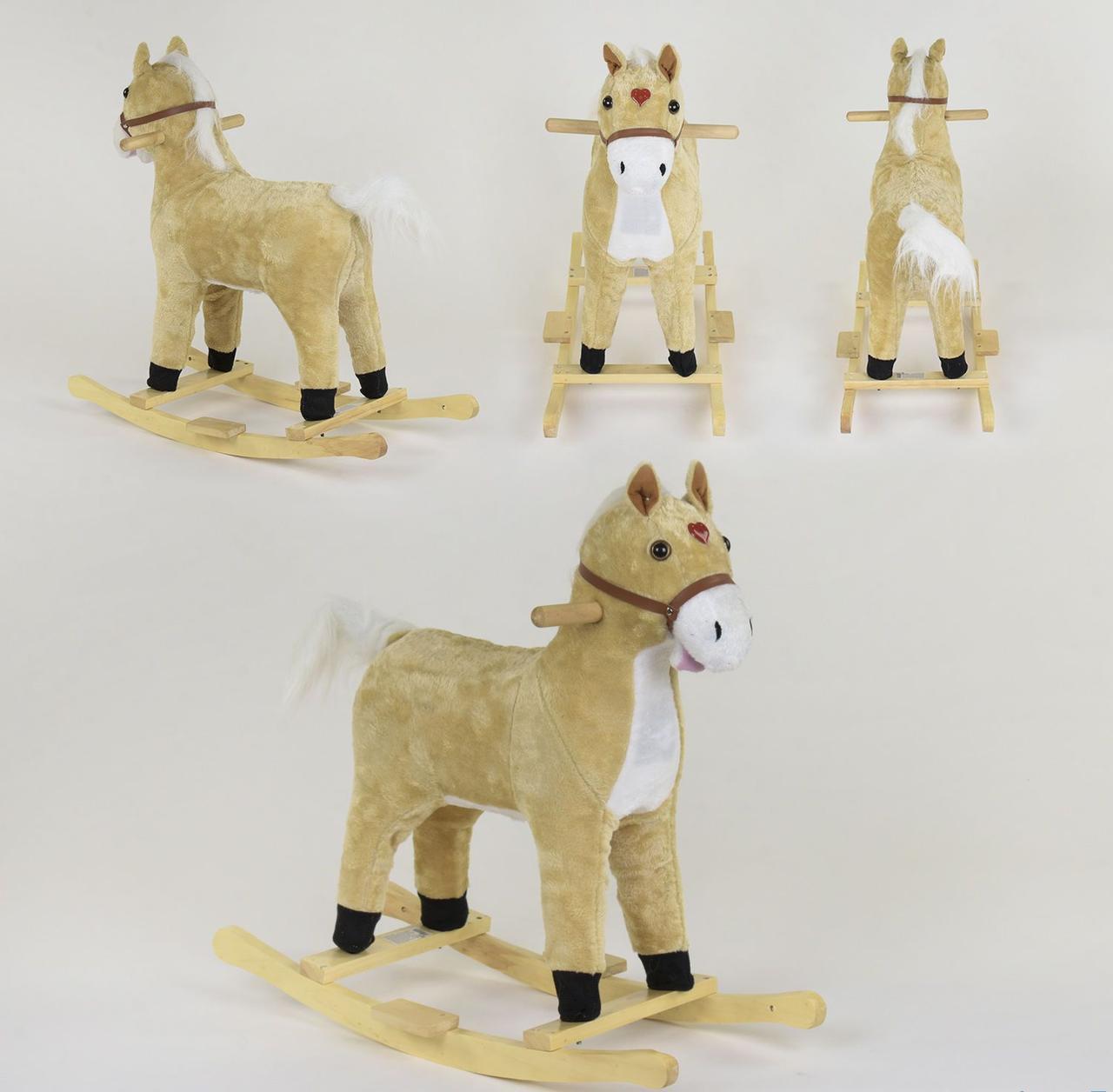 Качалка-лошадка со световыми и звуковыми эффектами, код 06884