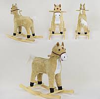 Качалка-конячка зі світловими і звуковими ефектами, код 06884