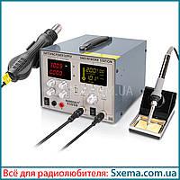 Паяльная станция с лабораторным блоком питания HandsKit 9305D 5 ампер, 30 вольт, фото 1