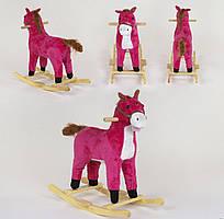 Качалка-конячка зі світловими і звуковими ефектами, код 07995