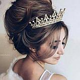 Marry-Elizabeth - Діадема копія улюбленої корони Єлизавети 2ї (6см), фото 7