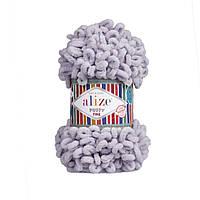 Alize Puffy Fine  серо-голубой №268