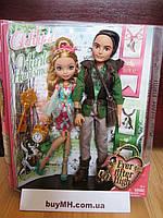 Куклы Ever After High Ashlynn Ella & Hunter Huntsman Doll, 2-Pack Эшлин Элла и Хантер Хантсмен