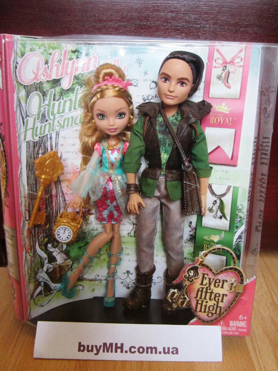 Куклы Ever After High Ashlynn Ella & Hunter Huntsman Doll, 2-Pack Эшлин Элла и Хантер Хантсмен, фото 1