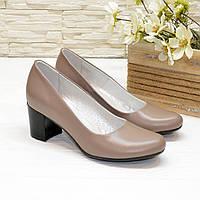 Туфли женские кожаные Vasha Para РТ-2001 36 цвет визон
