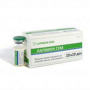 ГЕМ-2 Лапимун вакцина против геморрагической болезни