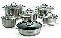 Набор кухонной посуды 12 предметов EDENBERG EB-4001