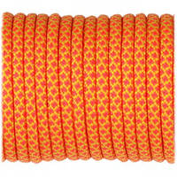 Верёвка Paracord Type III 550, sofit yellow pink snake #424, фото 1