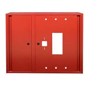 Шкаф пожарный ШП-90/70-Н Красный (навесной, без задней стенки, 900х700х230мм)
