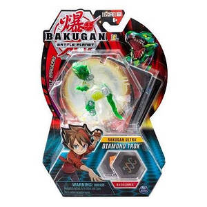 Bakugan.Battle planet бакуган: ультра Бриллиант Трокс (Diamond Trox)