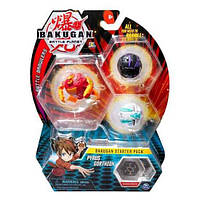 Bakugan.Battle planet: набор 3 бакугана Пайрус Гортзон (Pyrus Gorthion)