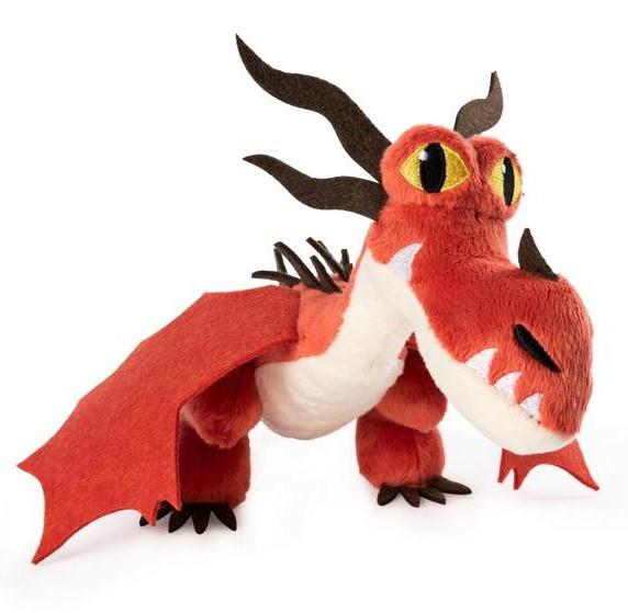 Как приручить дракона 3: Кривоклык мягкий дракон (20см) SM66606/1852 Spin Master