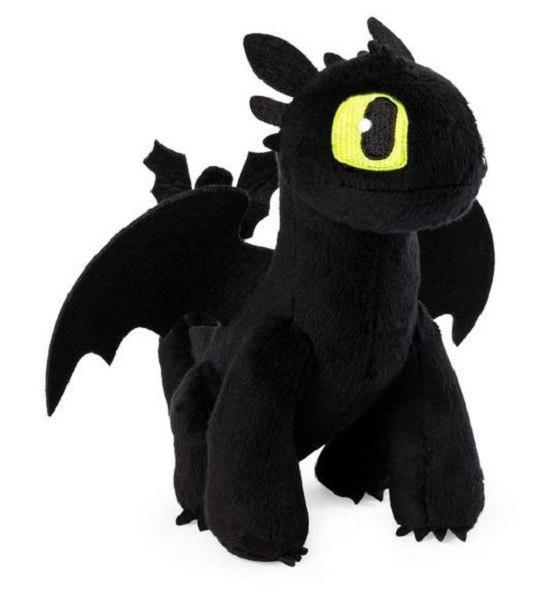 Как приручить дракона 3: Беззубик мягкий дракон (20см) SM66606/1845 Spin Master