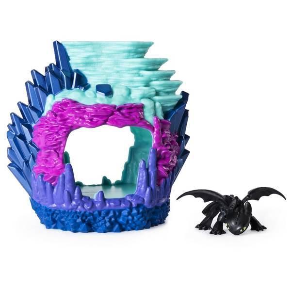 Як приручити дракона 3: ігровий набір Лігво дракона Беззубика SM66624/2101 Spin Master