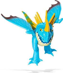 Как приручить дракона 3: коллекционная фигурка дракона Громгильды с механической функцией  Spin Master