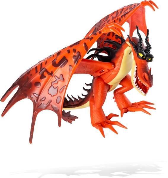 Як приручити дракона 3: колекційна фігурка дракона Кривоклыка з механічною функцією Spin Master