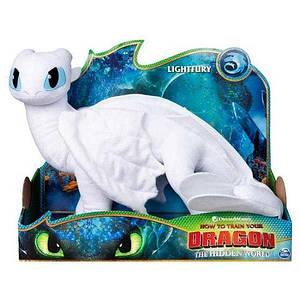 Как приручить дракона 3: Дневная фурия мягкий дракон де-люкс (35см) SM66625/7632 Spin Master