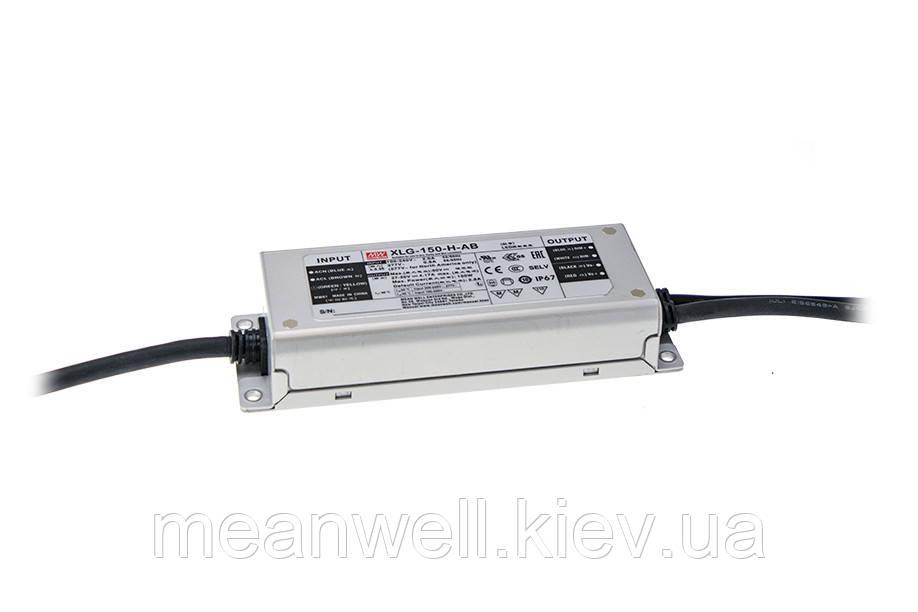 XLG-150-L-A Блок питания Mean Well 150Вт, 700-1050mА, 120-214V драйвер питания светодиодов LED IP67