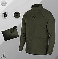 Ветровка  Анорак Jordan khaki / куртка осенне-весенняя