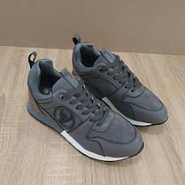 37 розмір Кросівки Louis Vuitton Run Away сірі чорні еко шкіра, замша еко Луї Віттон (КОПІЯ), фото 2