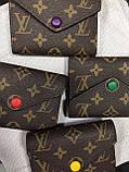 Жіночий гаманець Louis Vuitton Луї Віттон, ЛЮКС, фото 3