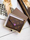 Жіночий гаманець Louis Vuitton Луї Віттон, ЛЮКС, фото 5