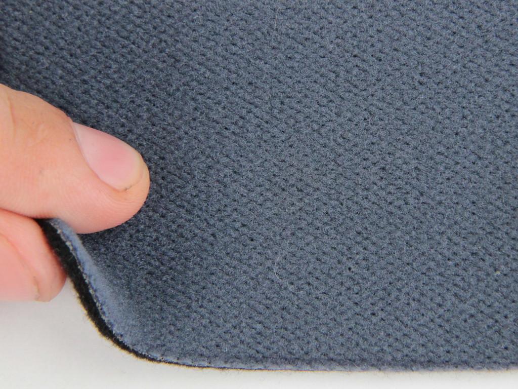 Ткань для сидений автомобиля, цвет темно-синий, на войлоке (для боковой части) Германия
