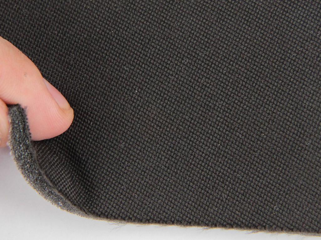 Ткань для сидений автомобиля, цвет коричневий, на поролоне (для боковой части) Германия