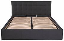 Ліжко Честер Стандарт Місті DK.Grey, 90х190 (Richman ТМ), фото 2