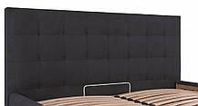 Ліжко Честер Стандарт Місті DK.Grey, 90х190 (Richman ТМ), фото 3