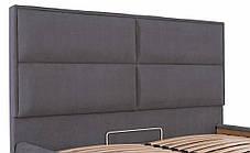 Ліжко Шеффілд Стандарт Місті DK.Grey, 90х190 (Richman ТМ), фото 2