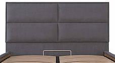 Ліжко Шеффілд Стандарт Місті DK.Grey, 90х190 (Richman ТМ), фото 3