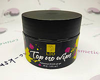 Финишное каучуковое покрытие для ногтей LEO Top No Wipe, 30 мл